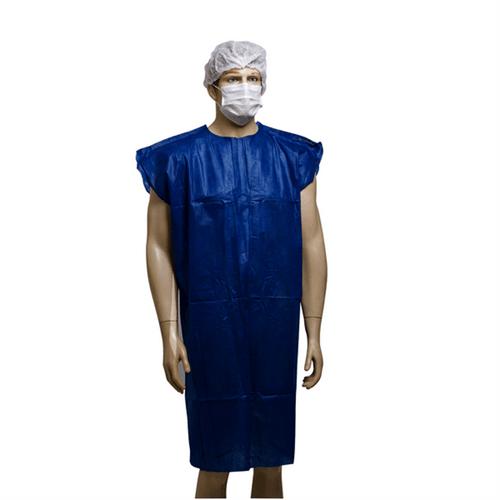 Avental Descartável Azul Escuro GG - 40g