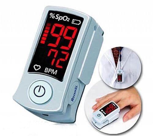 Oxímetro de Pulso (Dedo) Fingertip SB100 - Rossmax