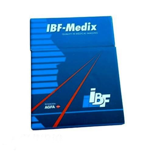 Filme p/ Raios X 13x18cm Base Verde c/ 100 folhas – IBF