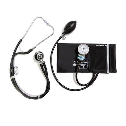 Conjunto de Esfigmomanômetro e Estetoscópio Duplo – BIC