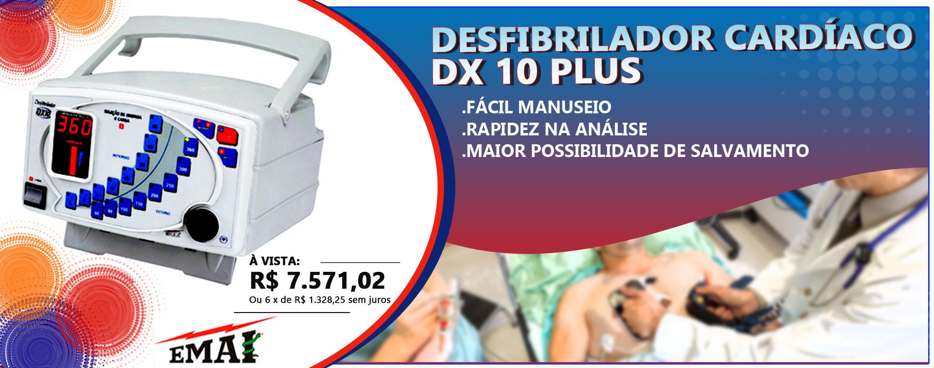 Desfibrilador Dx10